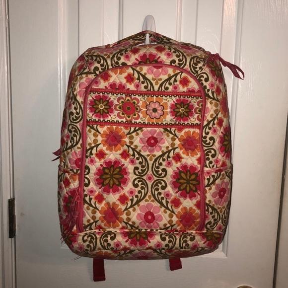 Vera Bradley Bags   Best Offer Today Backpack Bookbag   Poshmark cb71a41933